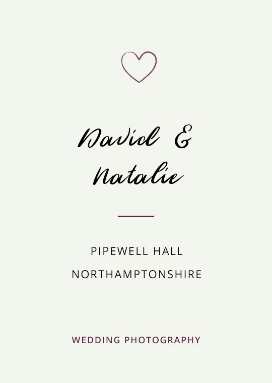 Cover image for David & Natalie's Pipewell Hall wedding blog post
