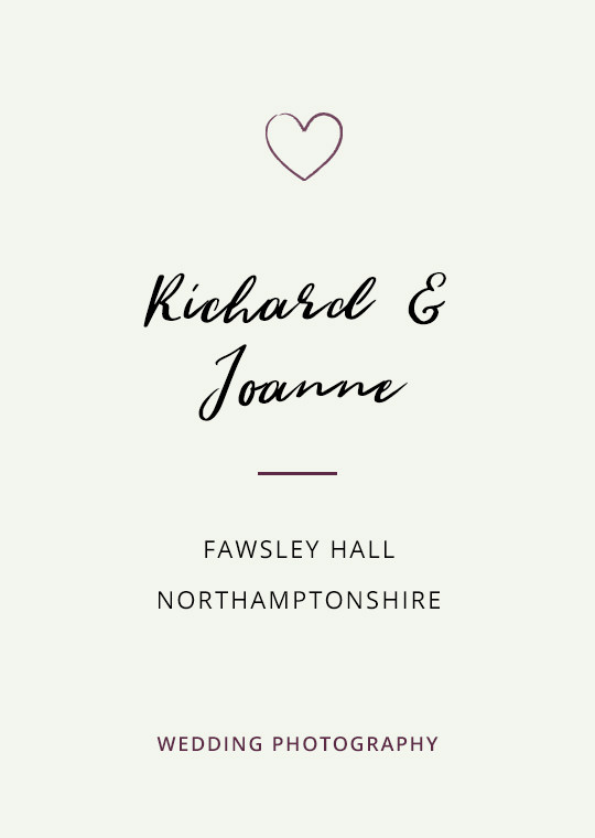 Cover image for Richard & Joanne's Fawsley Hall wedding blog post