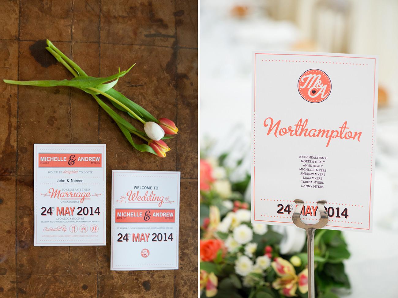 Kelmarsh hall asian wedding invitations