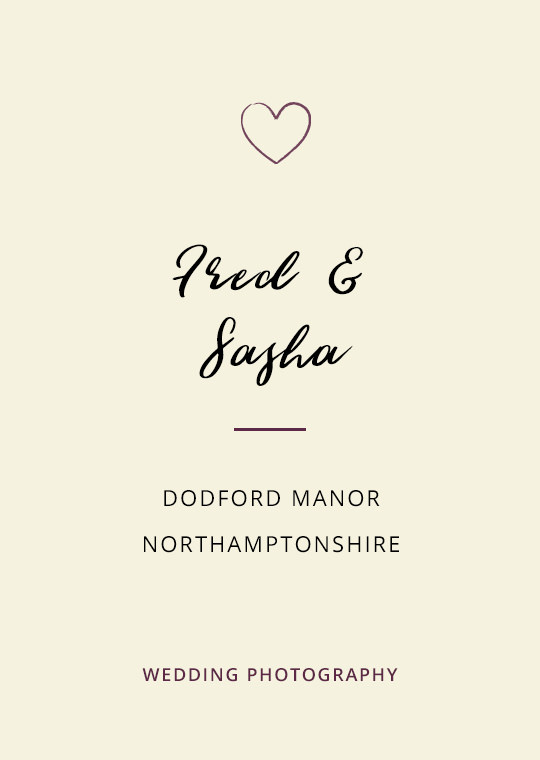 Cover image for Fred & Sasha's Dodford Manor wedding blog post