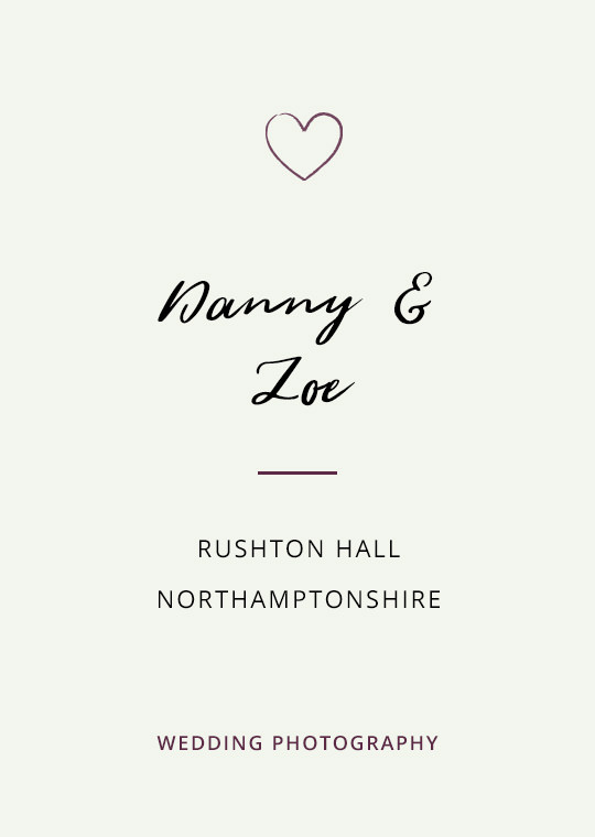 Cover image for Danny & Zoe's Rushton Hall wedding blog post