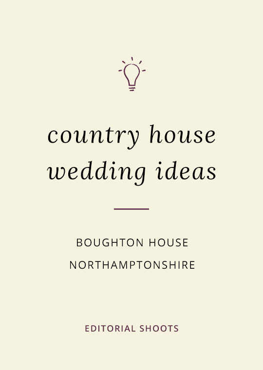 Cover image for blog post of Boughton House editorial shots