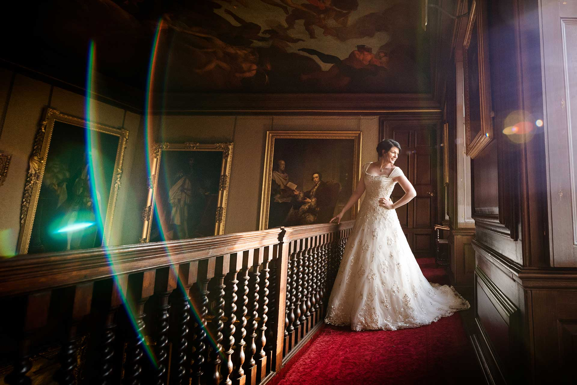 Bridal fashion shoot in Northamptonshire
