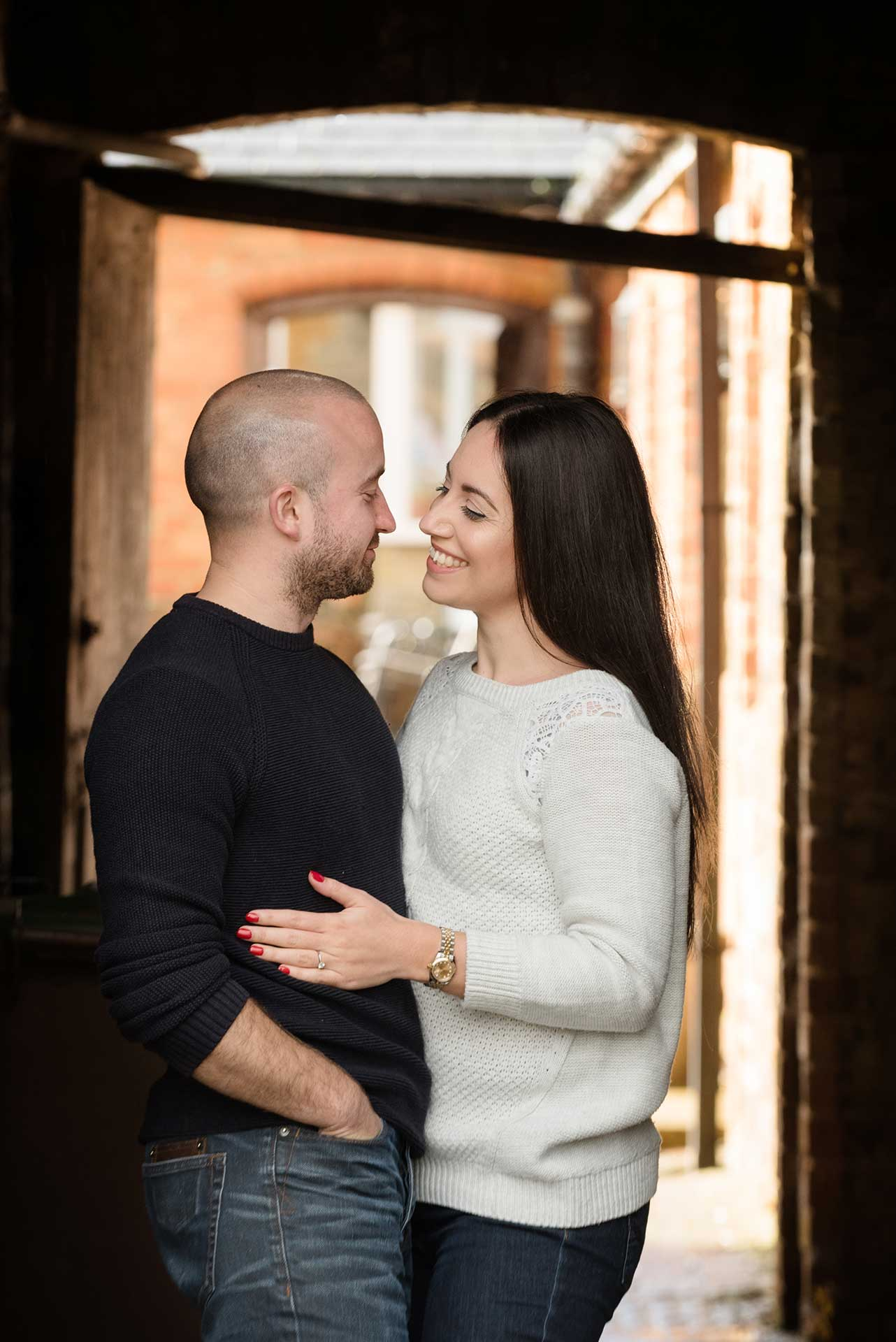 A pre-wedding shoot at Manor Farm