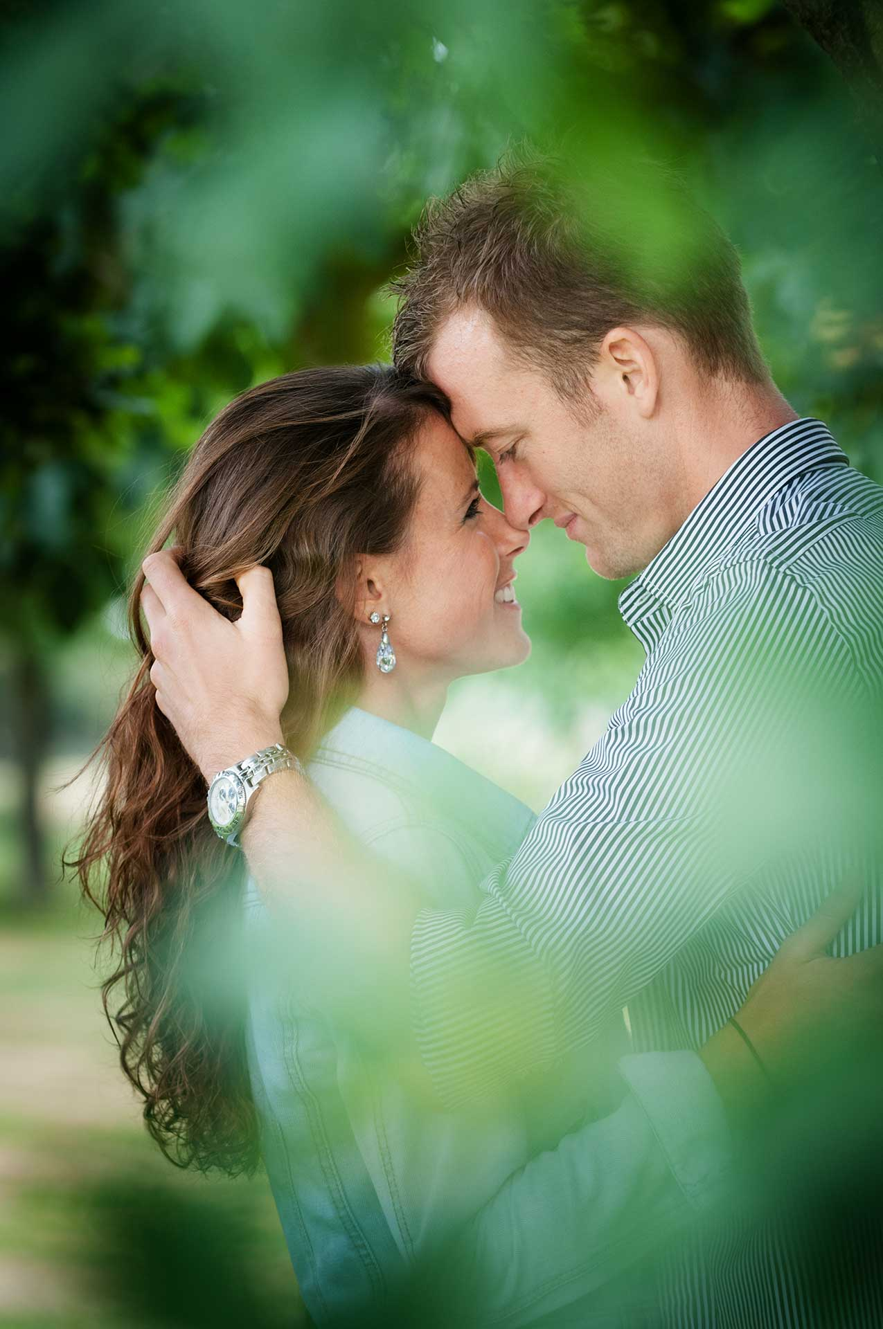 A pre-wedding shoot at Chicheley Hall