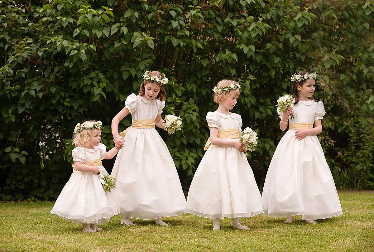 Flower Girls playing during a drinks reception in Northampton