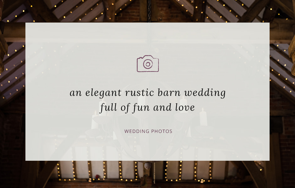 Jon & Beth's elegant rustic wedding at Shustoke Farm Barns (1)