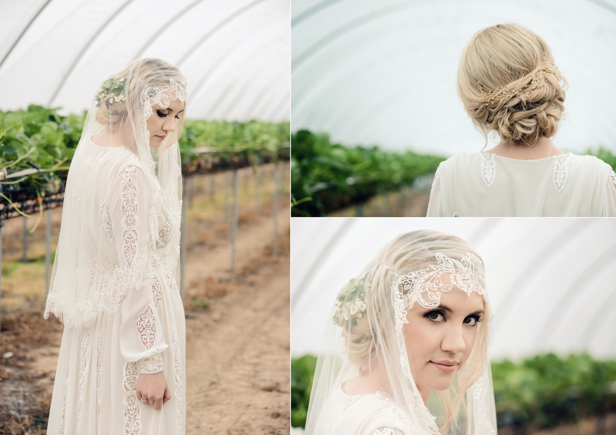A rustic wedding themed editorial photo shoot at Norwood Park in Nottingham (41)