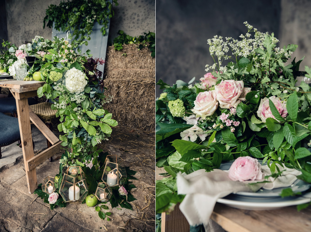 A rustic wedding themed editorial photo shoot at Norwood Park in Nottingham (39)