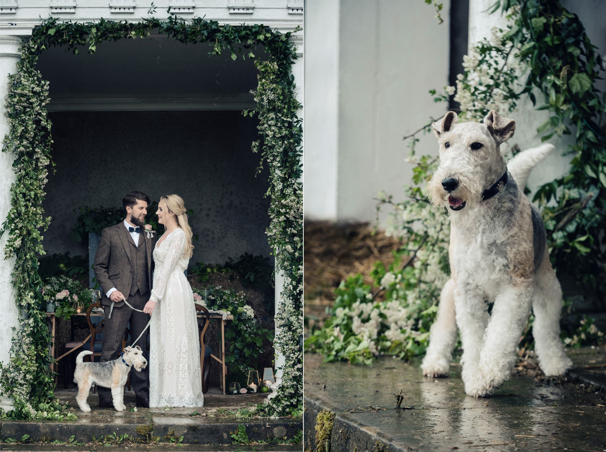 A rustic wedding themed editorial photo shoot at Norwood Park in Nottingham (13)