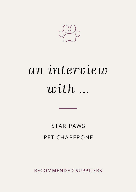 Pet chaperone interview with Star Paws cover image