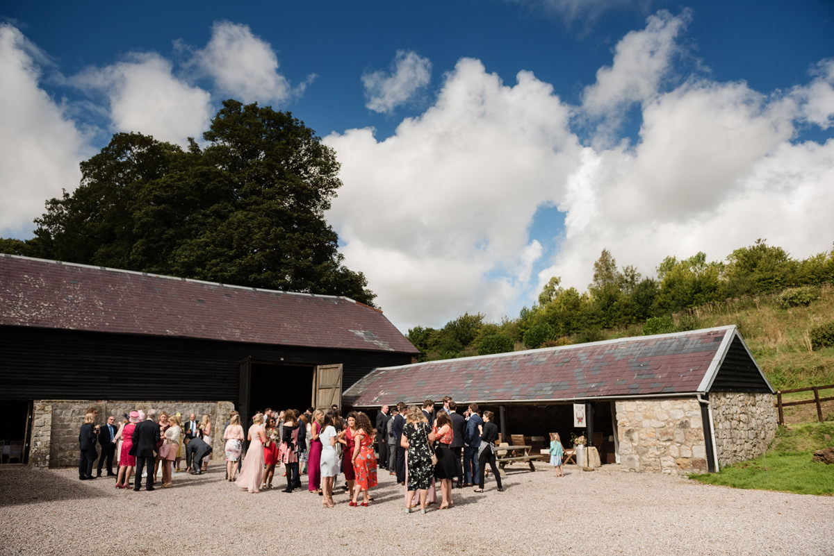 Joe & Isabella's wedding photos at Wick Bottom Barn in Rockley (25)