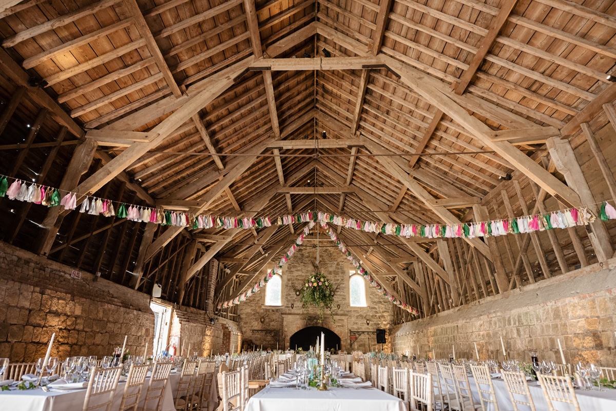 Joe & Isabella's wedding photos at Wick Bottom Barn in Rockley (26)