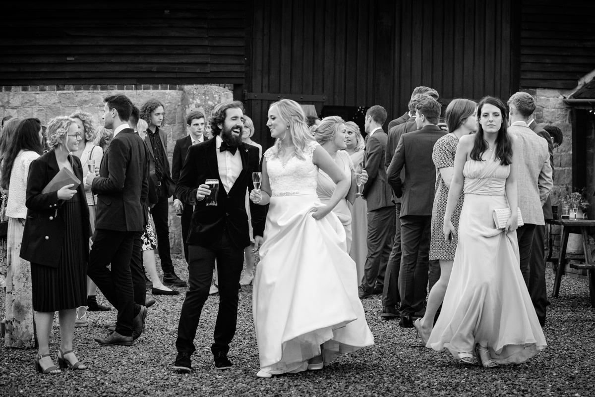Joe & Isabella's wedding photos at Wick Bottom Barn in Rockley (41)