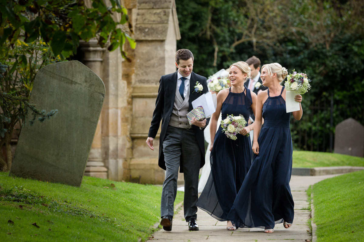 Tom & Olivia's Wedding at Houghton on the Hill church & Kelmarsh Hall, Northampton (22)
