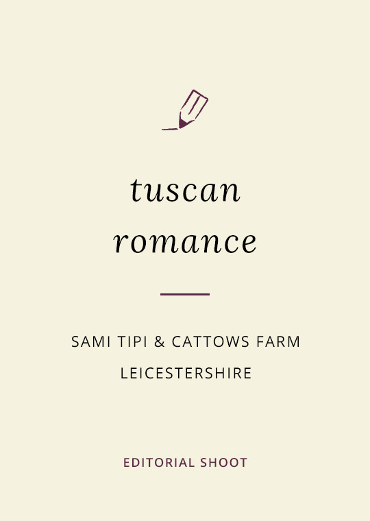 A Tuscany themed outdoor tipi wedding at Cattows Farm in Leicestershire (34)