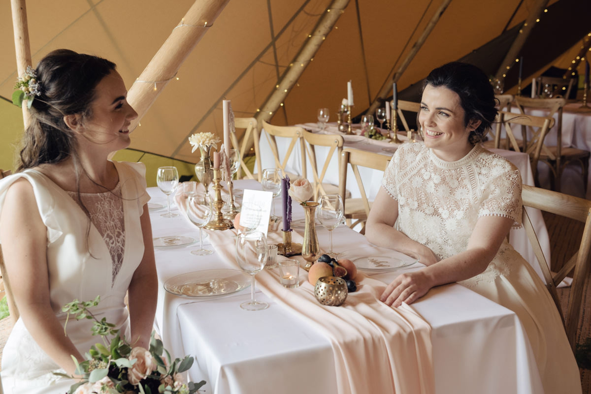 A Tuscany themed outdoor tipi wedding at Cattows Farm in Leicestershire (22)