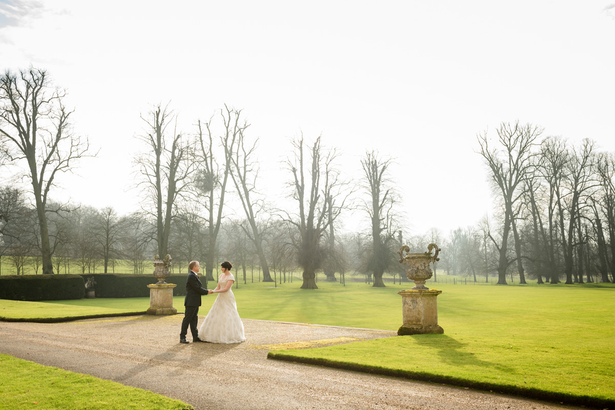 Clive & Julie's Post-Wedding Portrait Shoot at Boughton House in Northants (6)