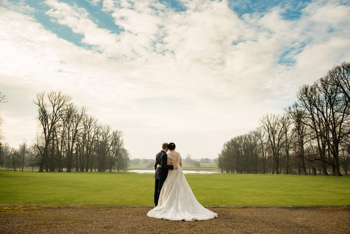 Clive & Julie's Post-Wedding Portrait Shoot at Boughton House in Northants (8)