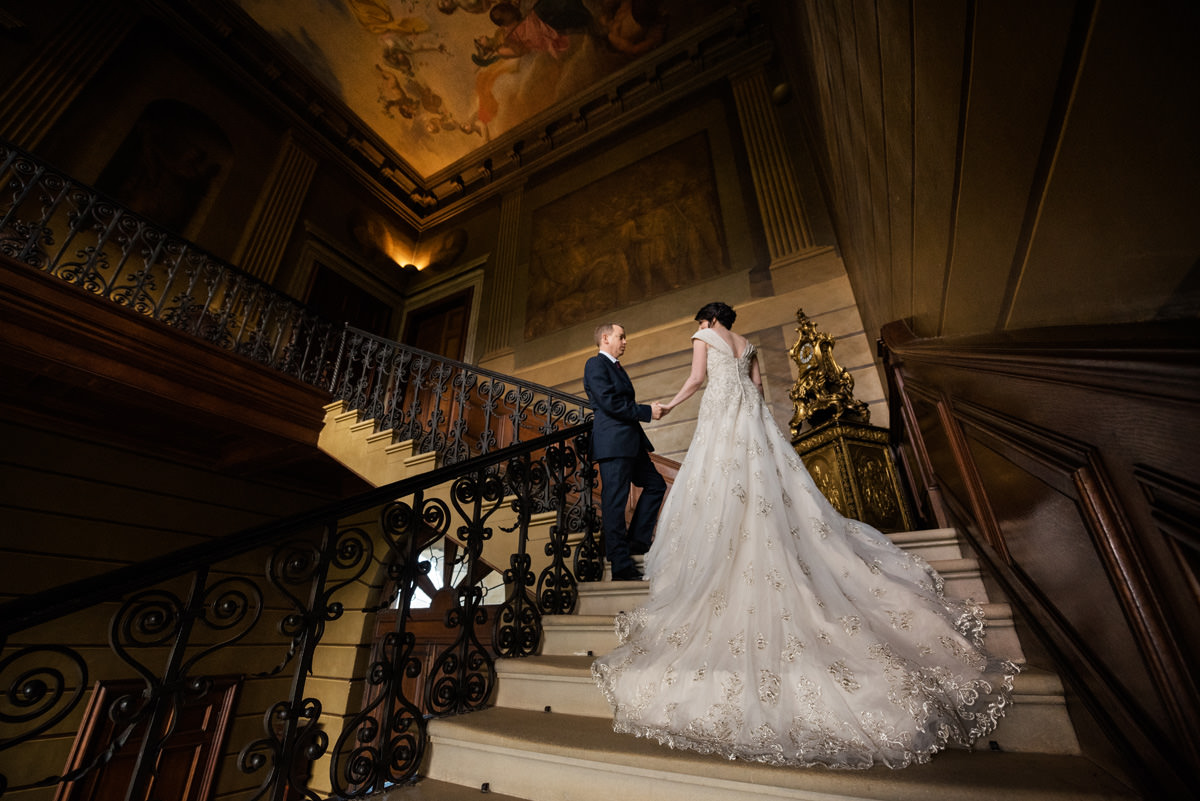 Clive & Julie's Post-Wedding Portrait Shoot at Boughton House in Northants (9)