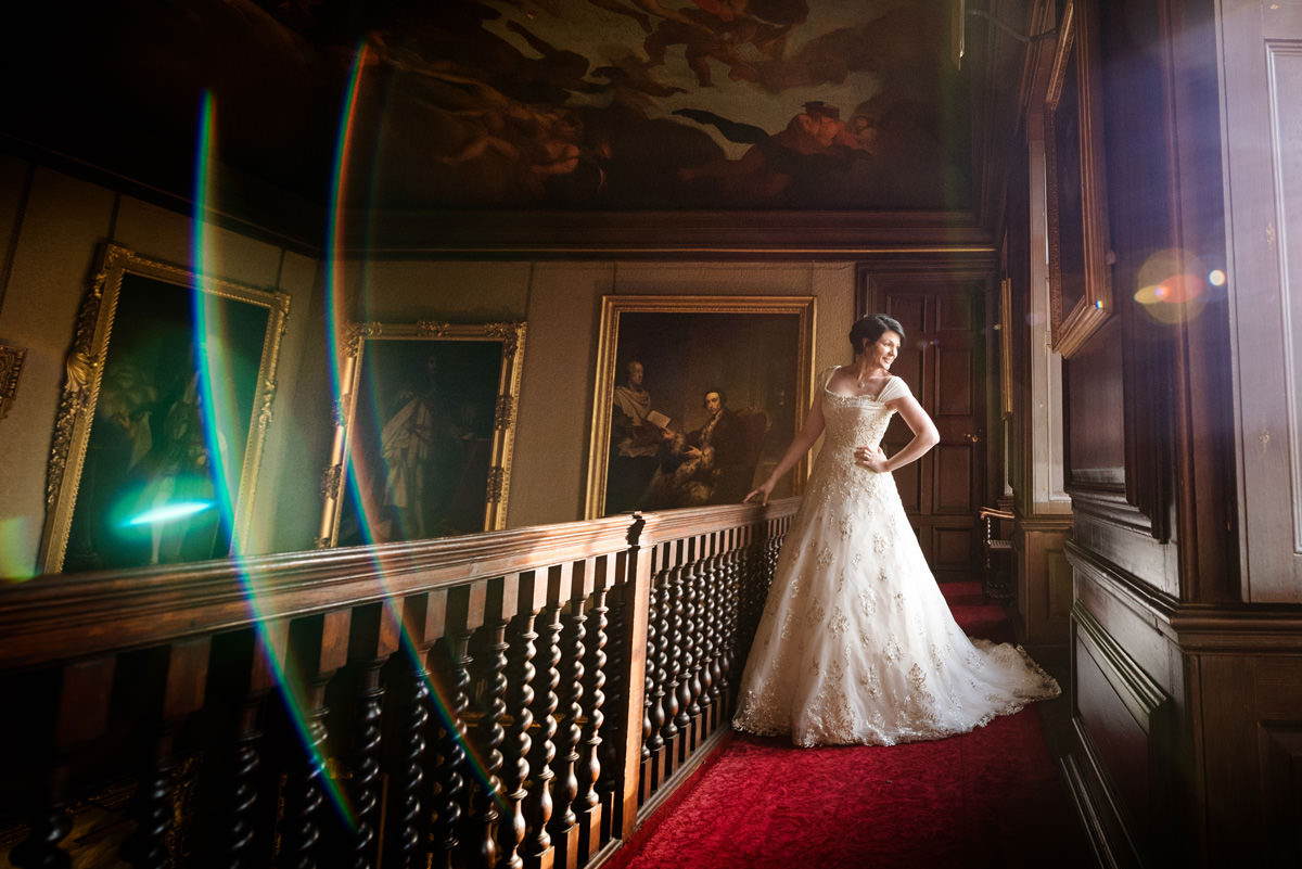 Clive & Julie's Post-Wedding Portrait Shoot at Boughton House in Northants (10)