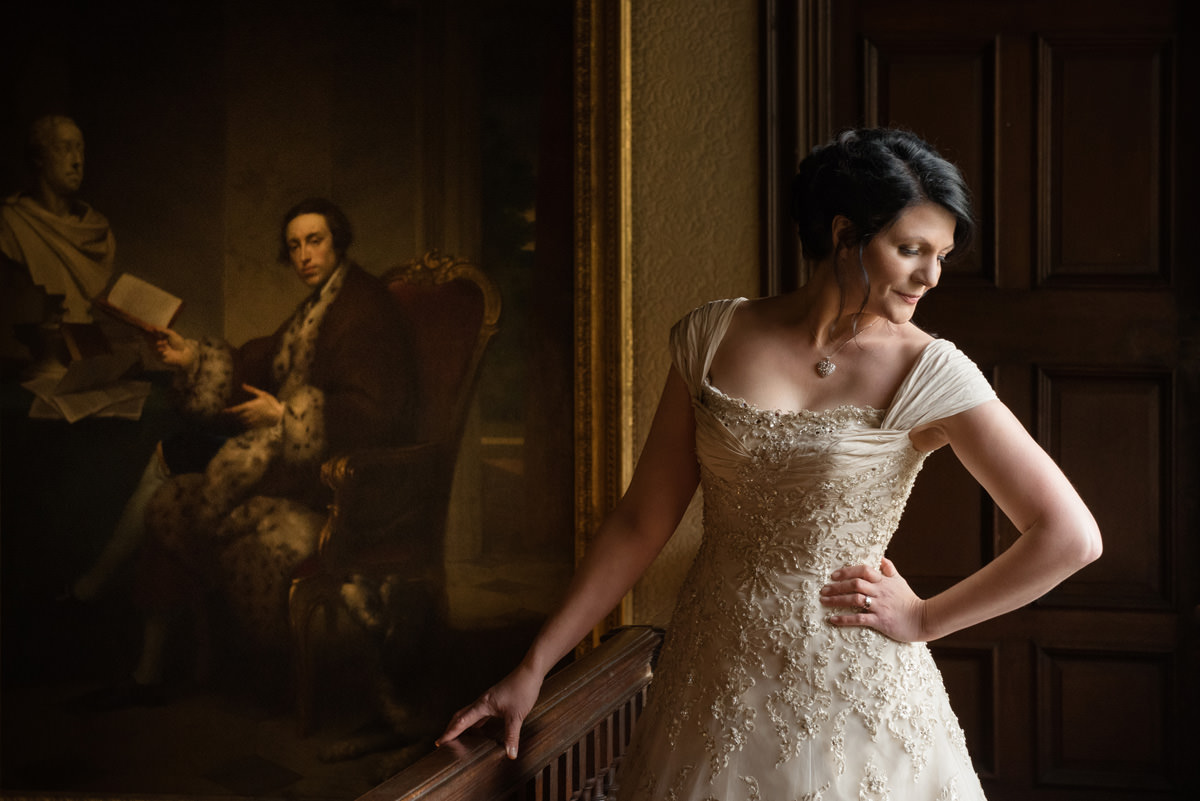 Clive & Julie's Post-Wedding Portrait Shoot at Boughton House in Northants (11)