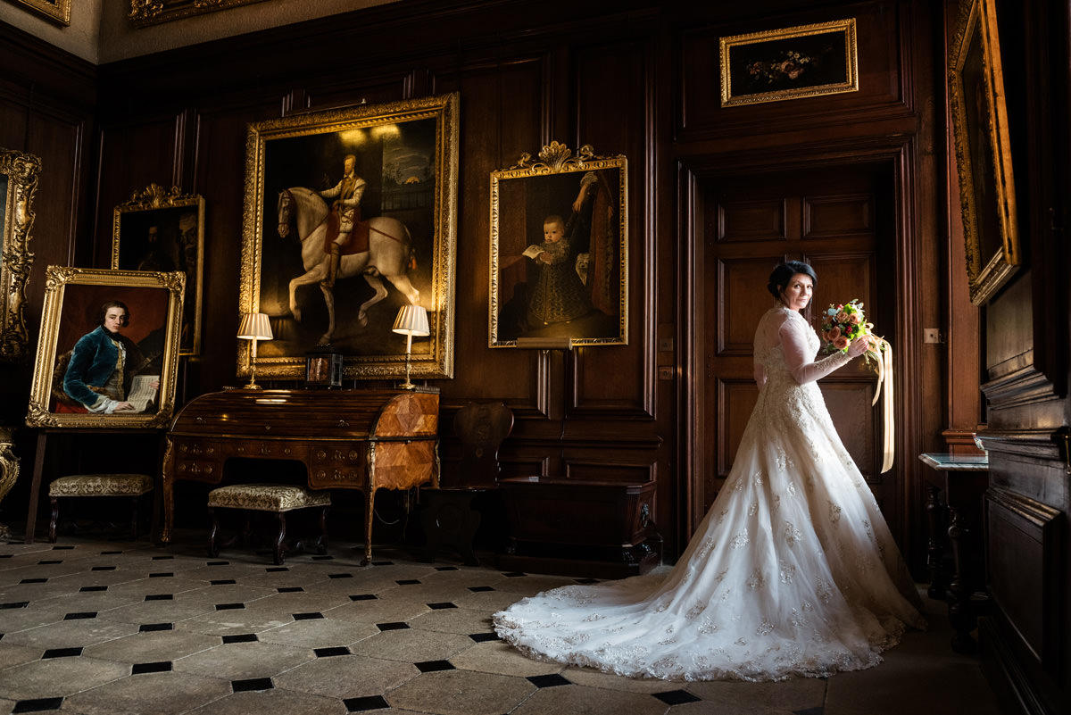 Clive & Julie's Post-Wedding Portrait Shoot at Boughton House in Northants (14)