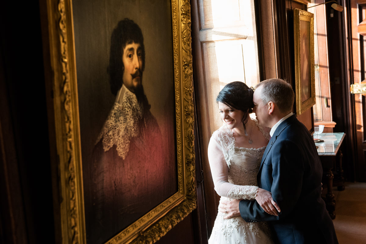 Clive & Julie's Post-Wedding Portrait Shoot at Boughton House in Northants (15)