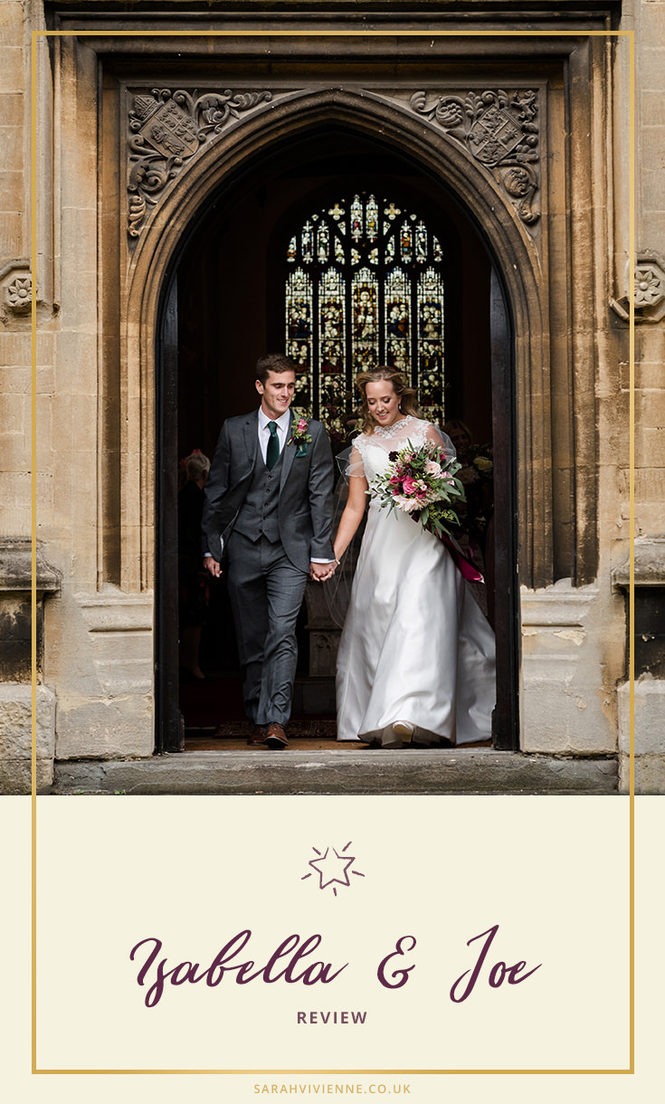A review of Sarah Vivienne Wedding Photography by Joe & Isabella (1)