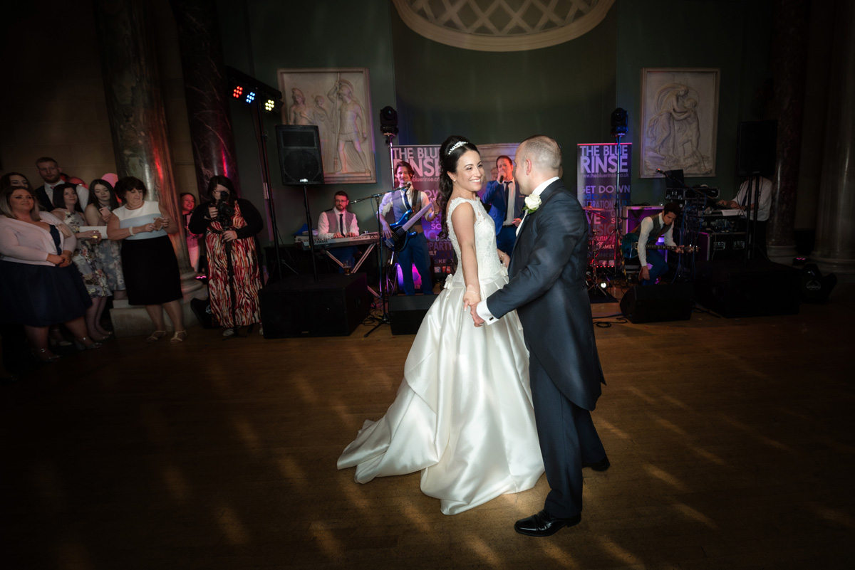 First dance at The Sculpture Gallery, Woburn Abbey