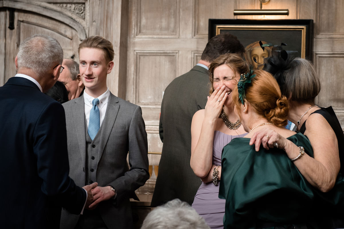 Terry & Alison's wedding photography at Fawsley Hall, Northamptonshire (8)