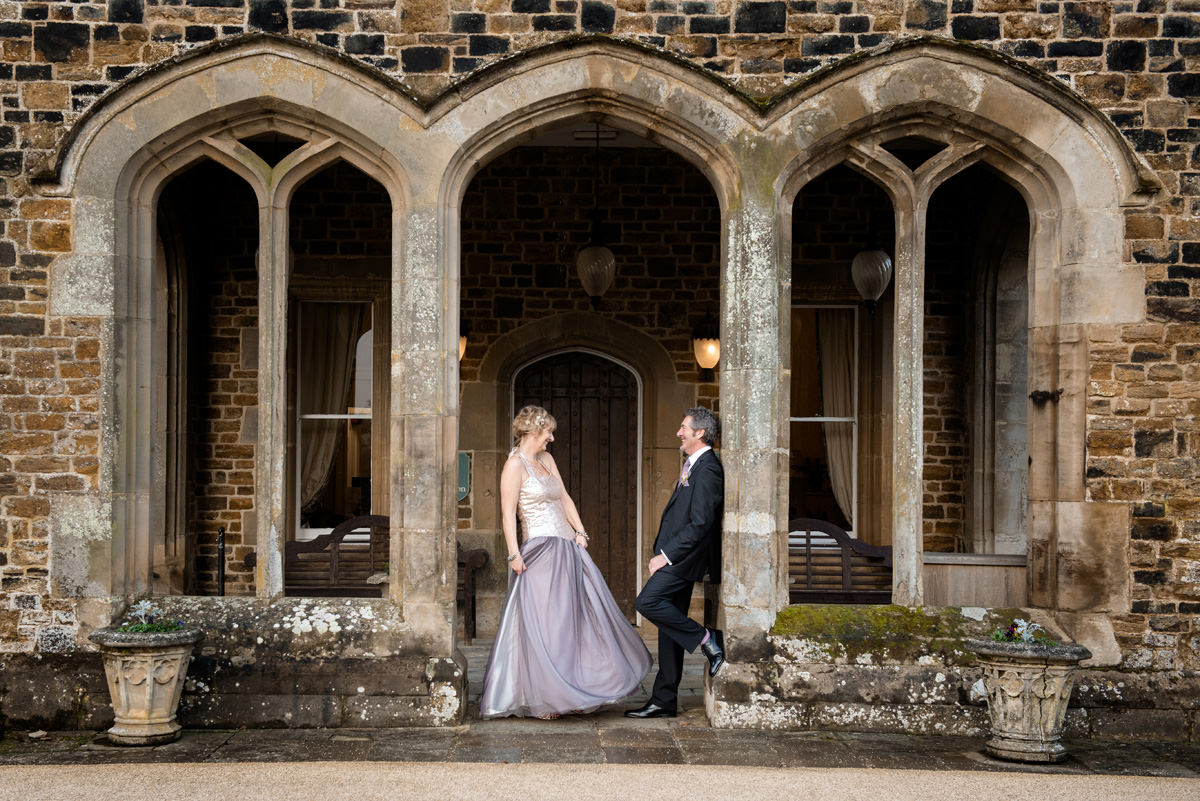Terry & Alison's wedding photography at Fawsley Hall, Northamptonshire (10)