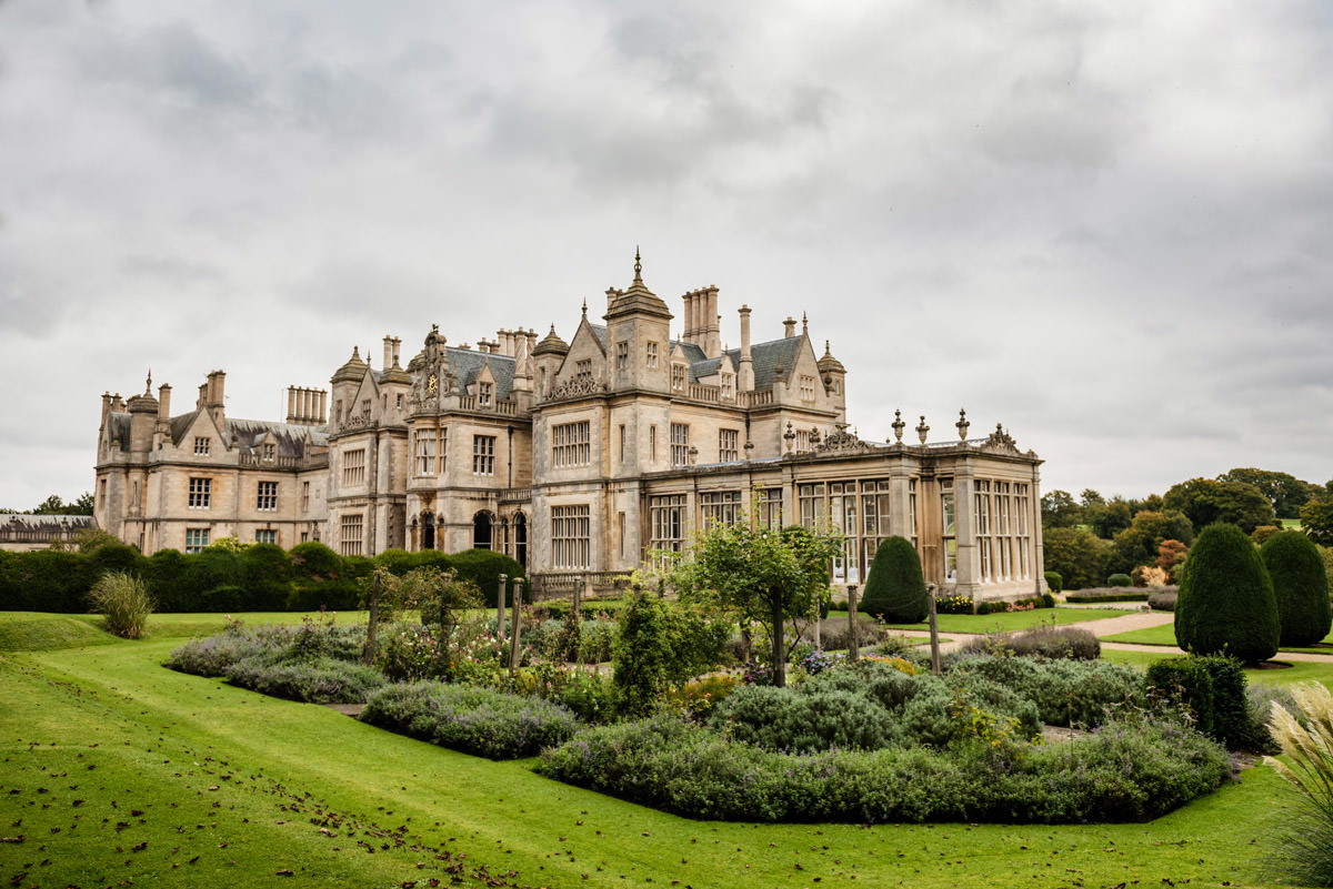 Stoke Rochford Hall - a wedding venue near Grantham in Lincolnshire