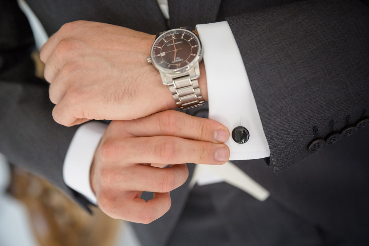 Groom's cufflinks