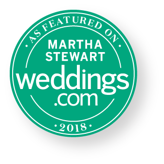 Martha Stewart Weddings featured badge