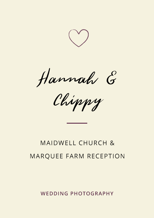 Cover image for blog post about Hannah and Chippy's wedding