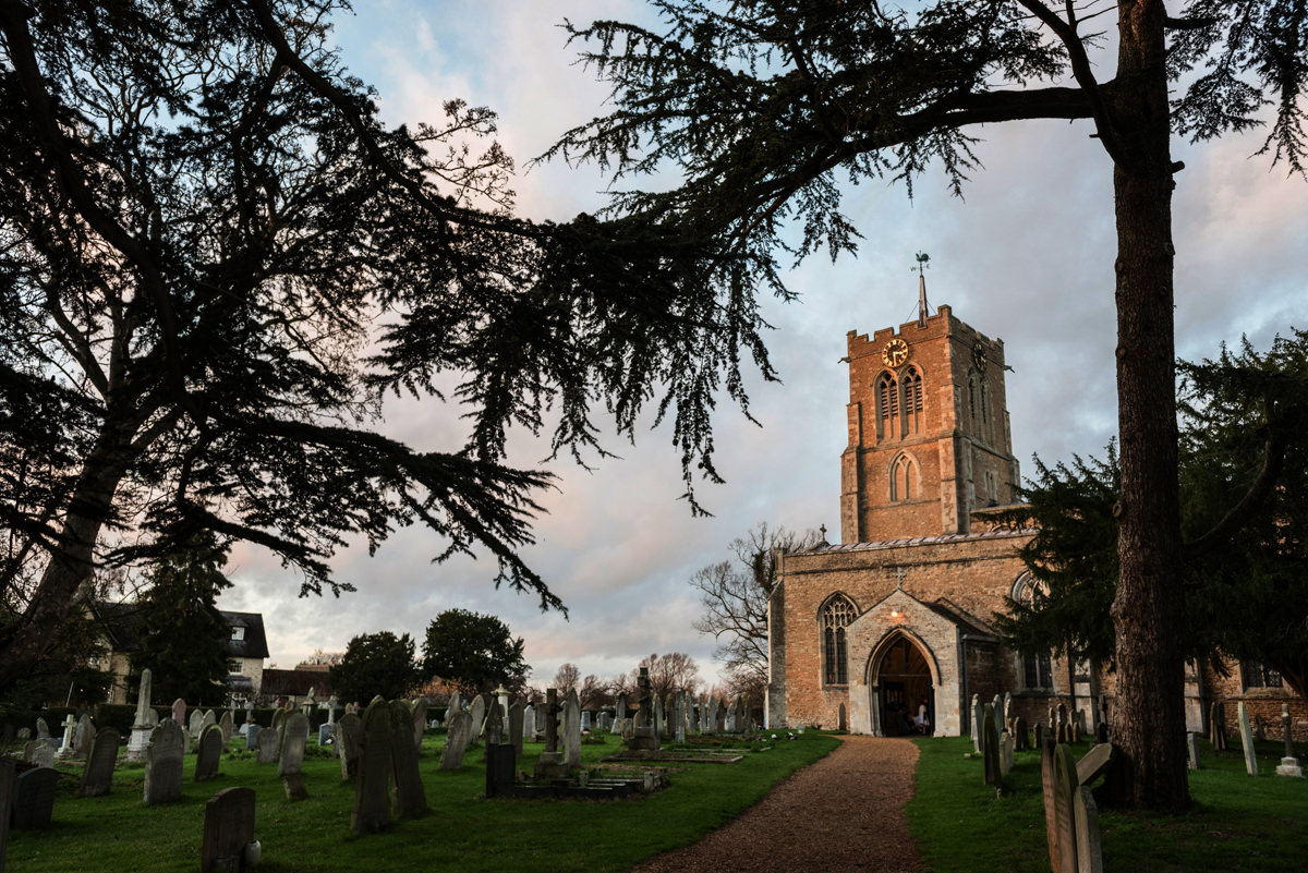 St Andrew's church in Swavesey, Cambridge