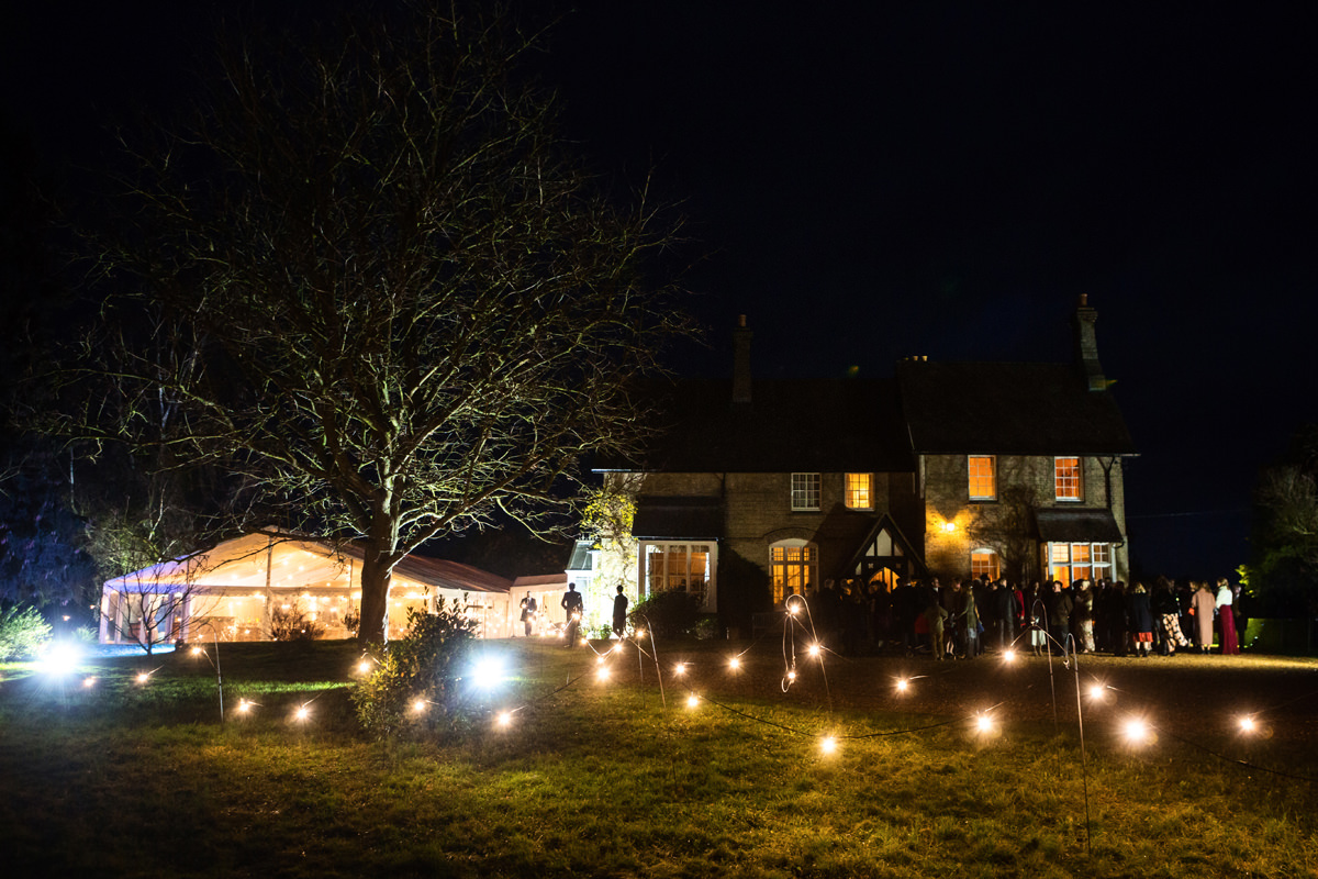 A marquee wedding in Swavesey, Cambridge