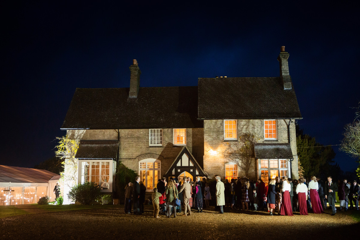 A winter wedding in Swavesey, Cambridge