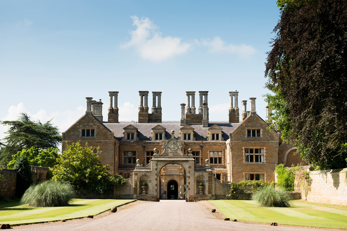 Holdenby House wedding venue in Northampton
