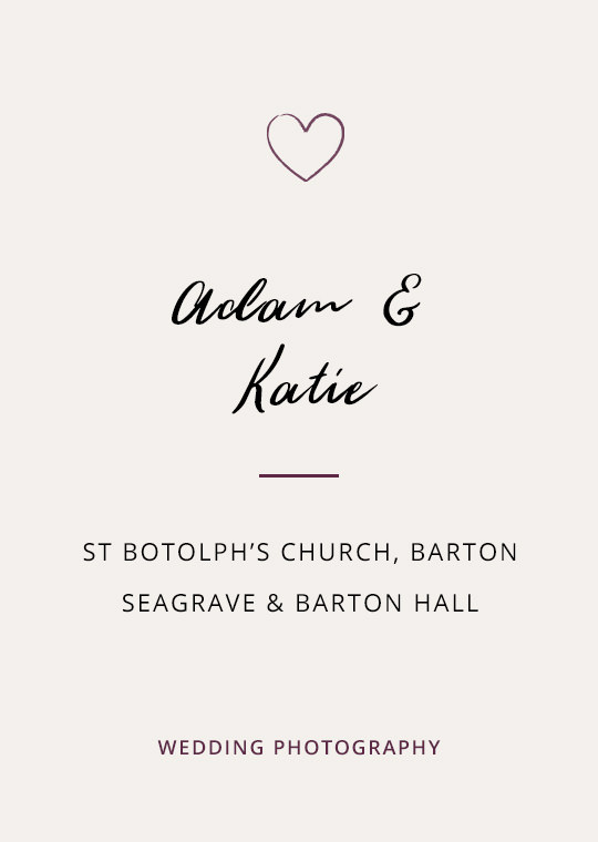 Cover image for Adam & Katie's Hall wedding blog post