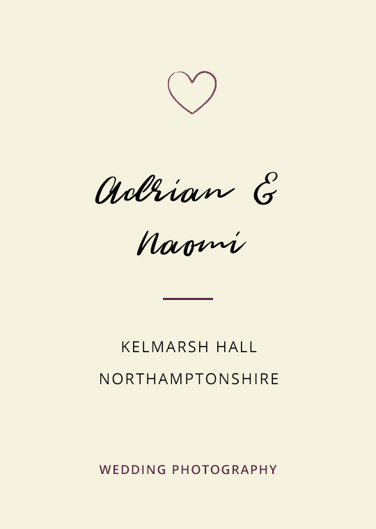 Cover image for Adrian & Naomi's Kelmarsh Hall wedding blog post
