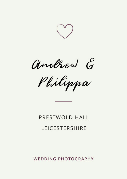 Cover image for Andrew & Philippa's Prestwold Hall wedding blog post