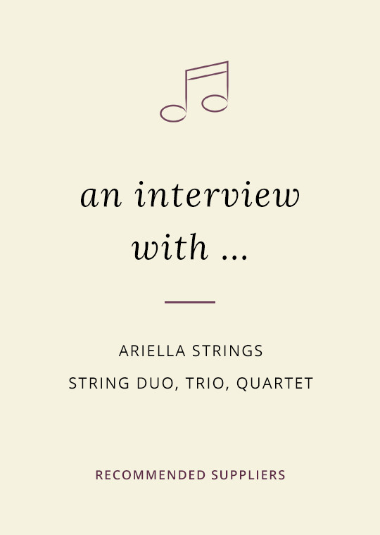 Ariella Strings blog interview cover image