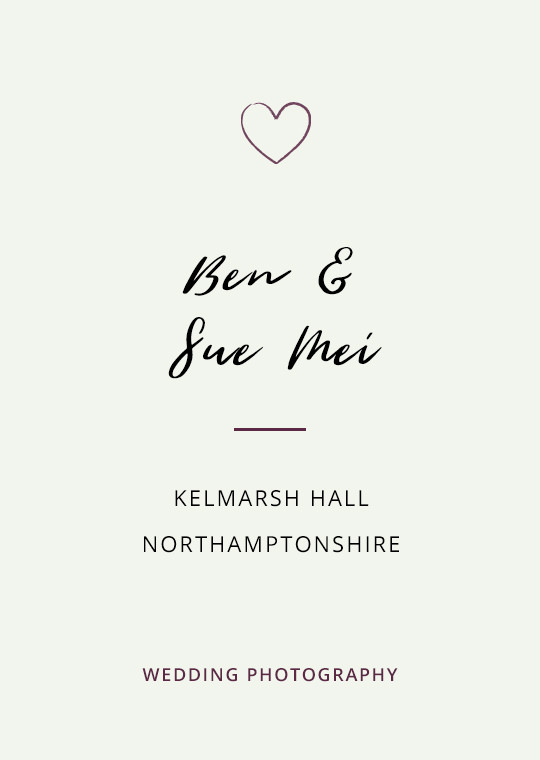 Cover image for Ben & Sue Mei's Kelmarsh Hall wedding blog post