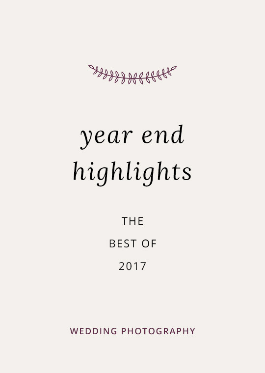 Cover image for 2017 wedding highlights blog post
