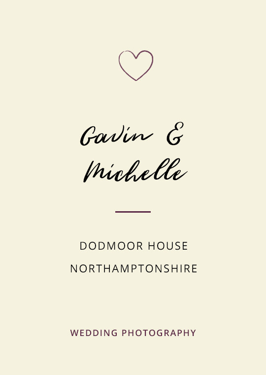 Cover image for Gavin & Michelle's Dodmoor House wedding blog post