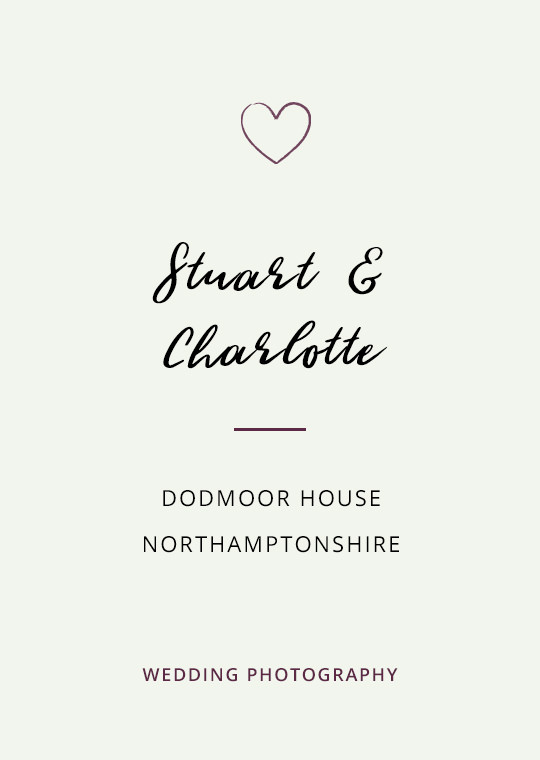 Cover image for Stuart & Charlotte's Dodmoor House wedding blog post
