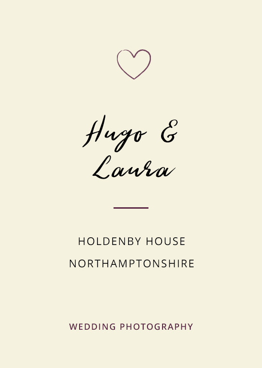 Cover image for Hugo & Laura's Holdenby House wedding blog post