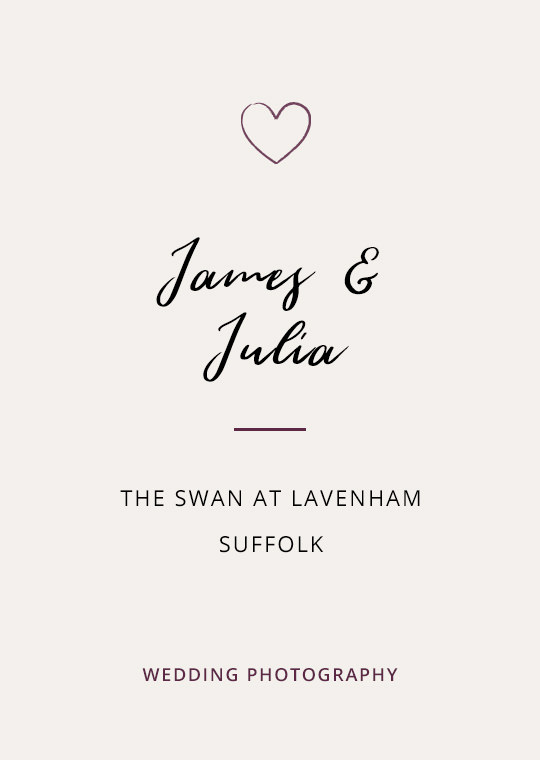 Cover image for James & Julia's Lavenham wedding blog post